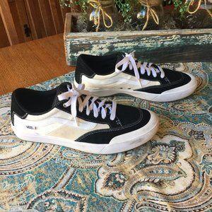 Vans Berle Pro Suede black white cream 11.5 Auth